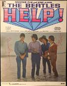 The Beatles Signed Help Film and Song Book