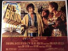 Life of Brian Cast Signed Lobby Card