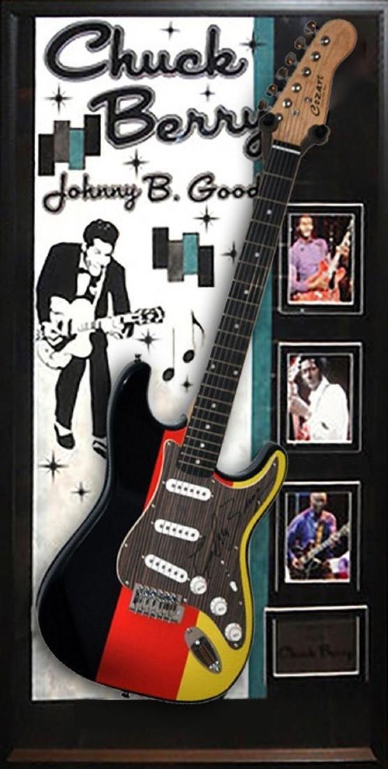 Chuck Berry Autographed Guitar