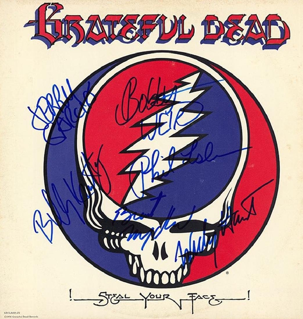 The Grateful Dead Signed Steal Your Face Album