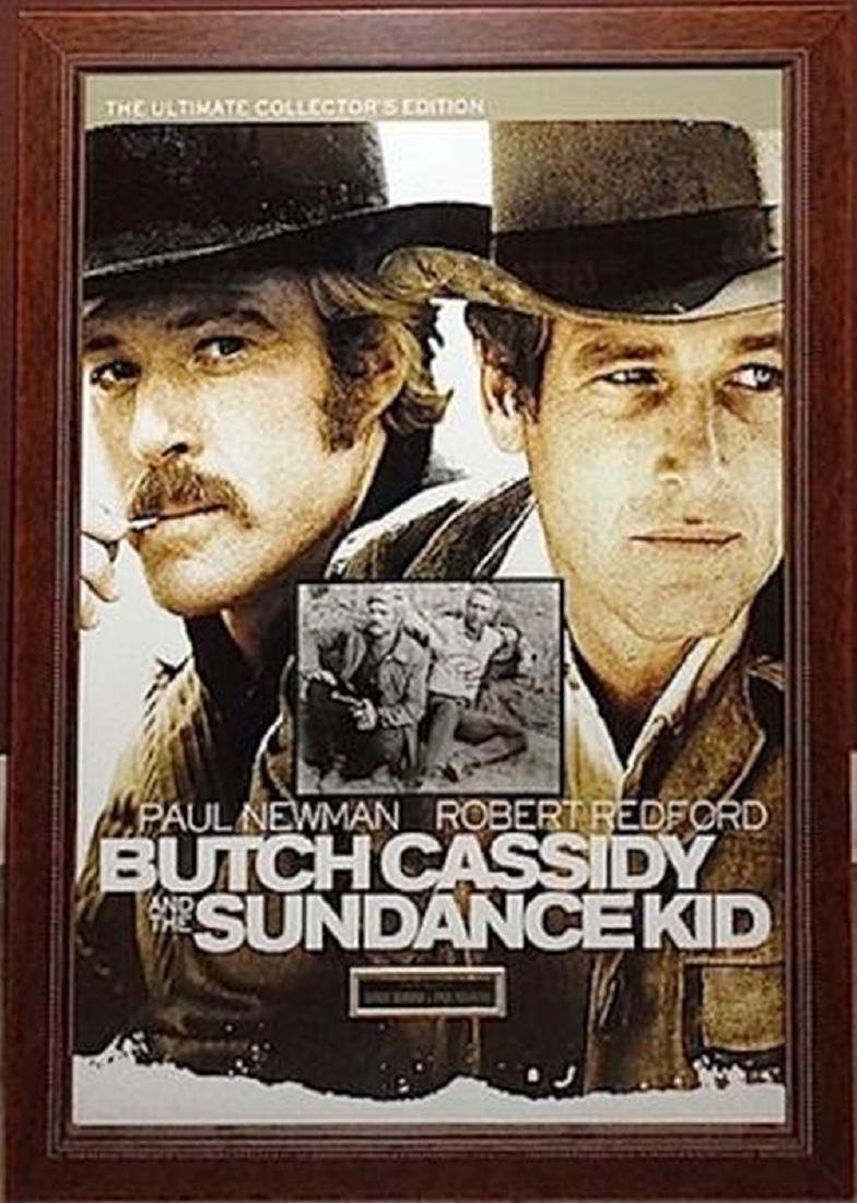 Butch Cassidy and The Sundance Kid Signed Picture in
