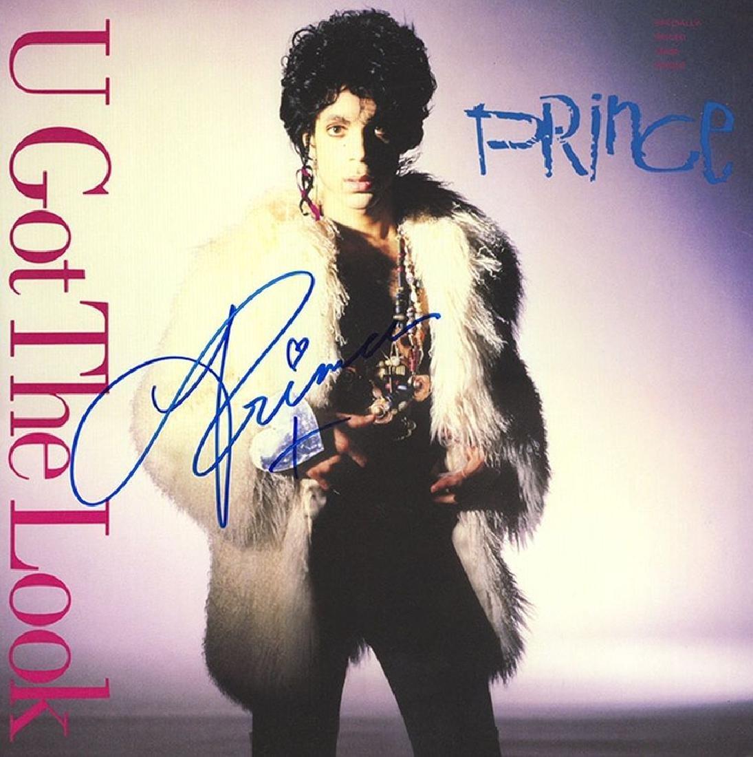Prince Signed U Got the Look Album
