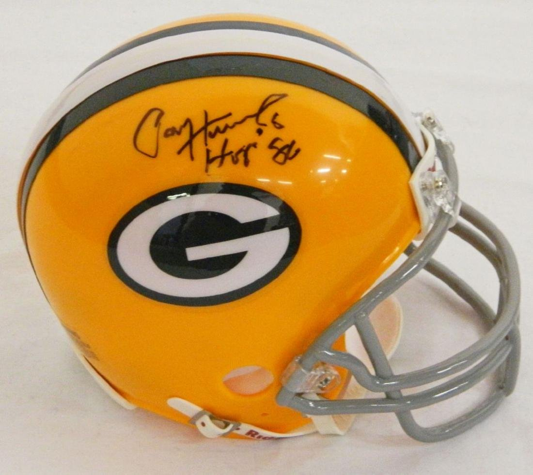 Paul Hornung Signed Green Bay Packers Throwback Riddell