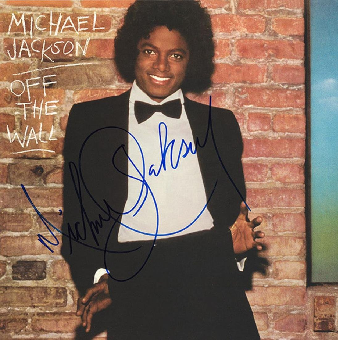 """Michael Jackson """"Off the Wall"""" Signed Album"""