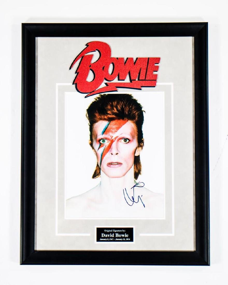Bowie Signed Photo