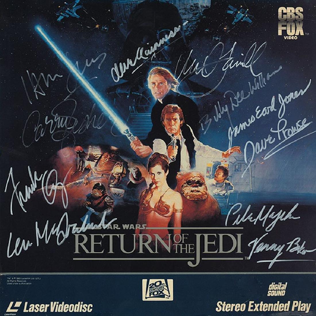 "Star Wars ""Return of the Jedi"" Signed Laserdisc"