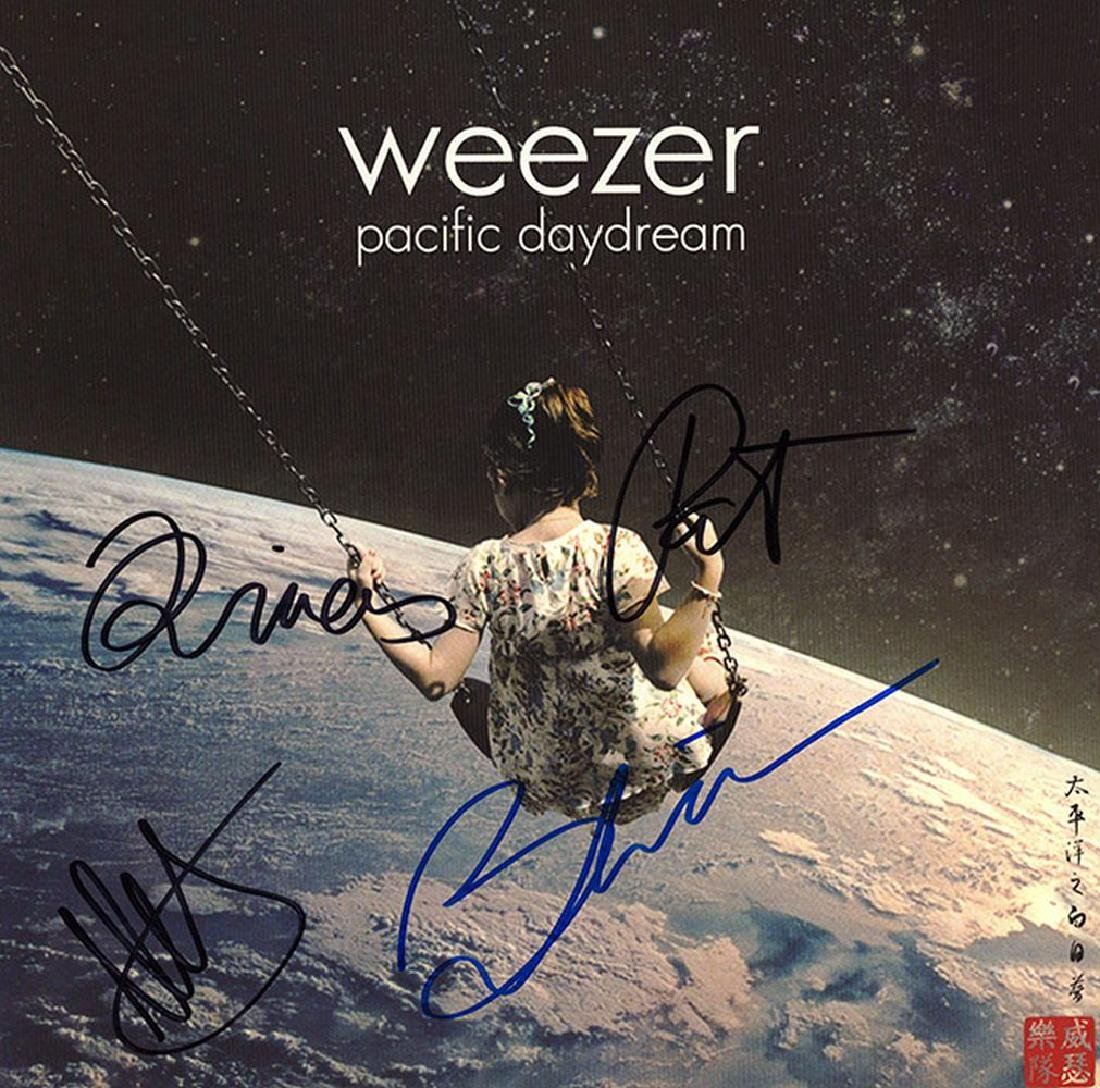 Weezer Band Signed Pacific Daylight Album