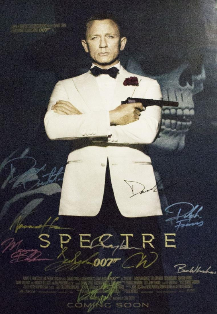 James Bond Spectre – Signed Poster