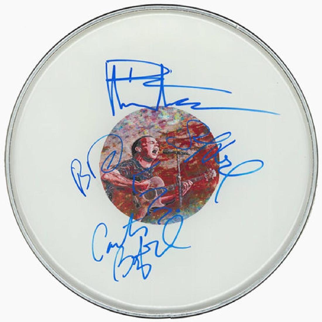 Dave Matthews Drum Head