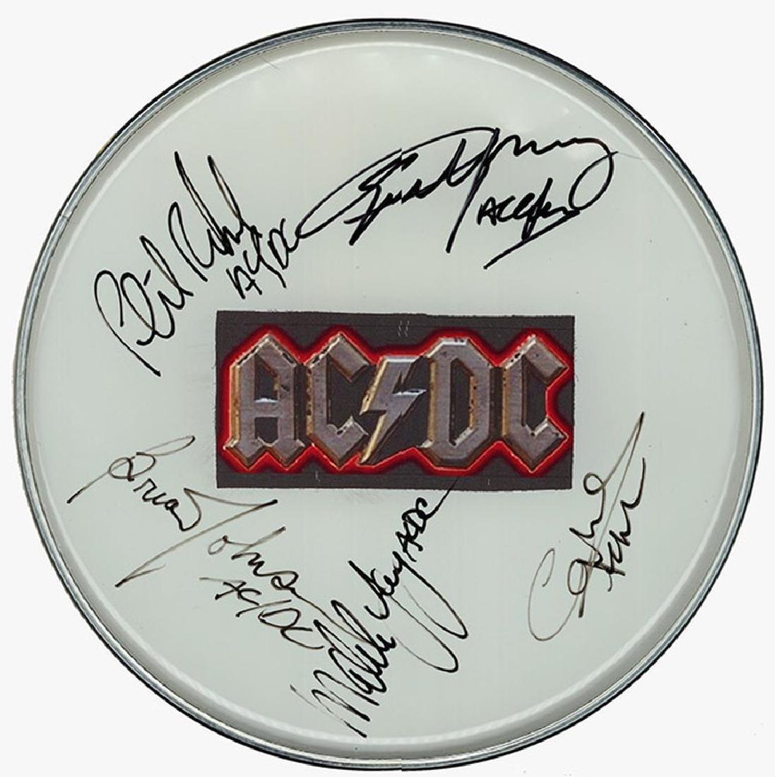AC/DC Drum Head