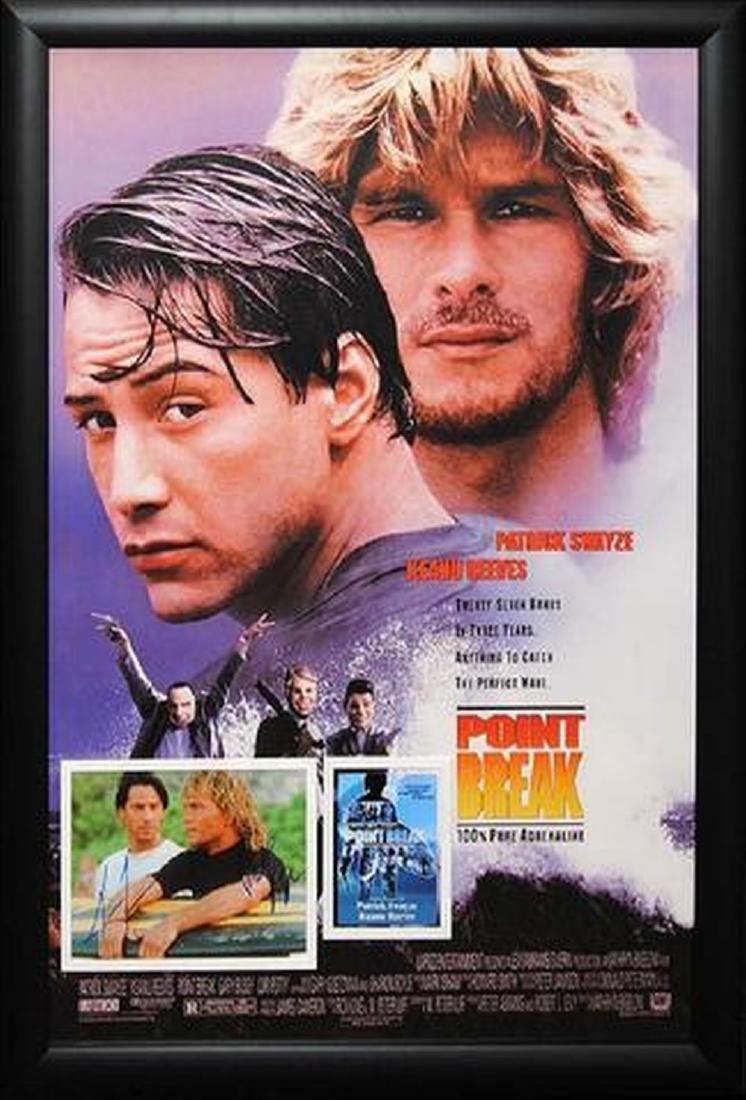 Point Break - Signed Movie Poster
