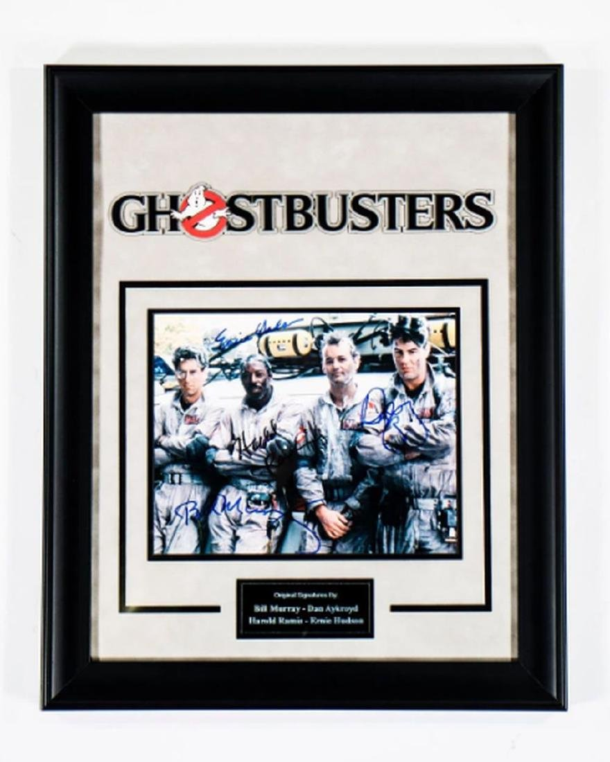 Ghostbusters - Signed by Movie Cast - Framed Artist
