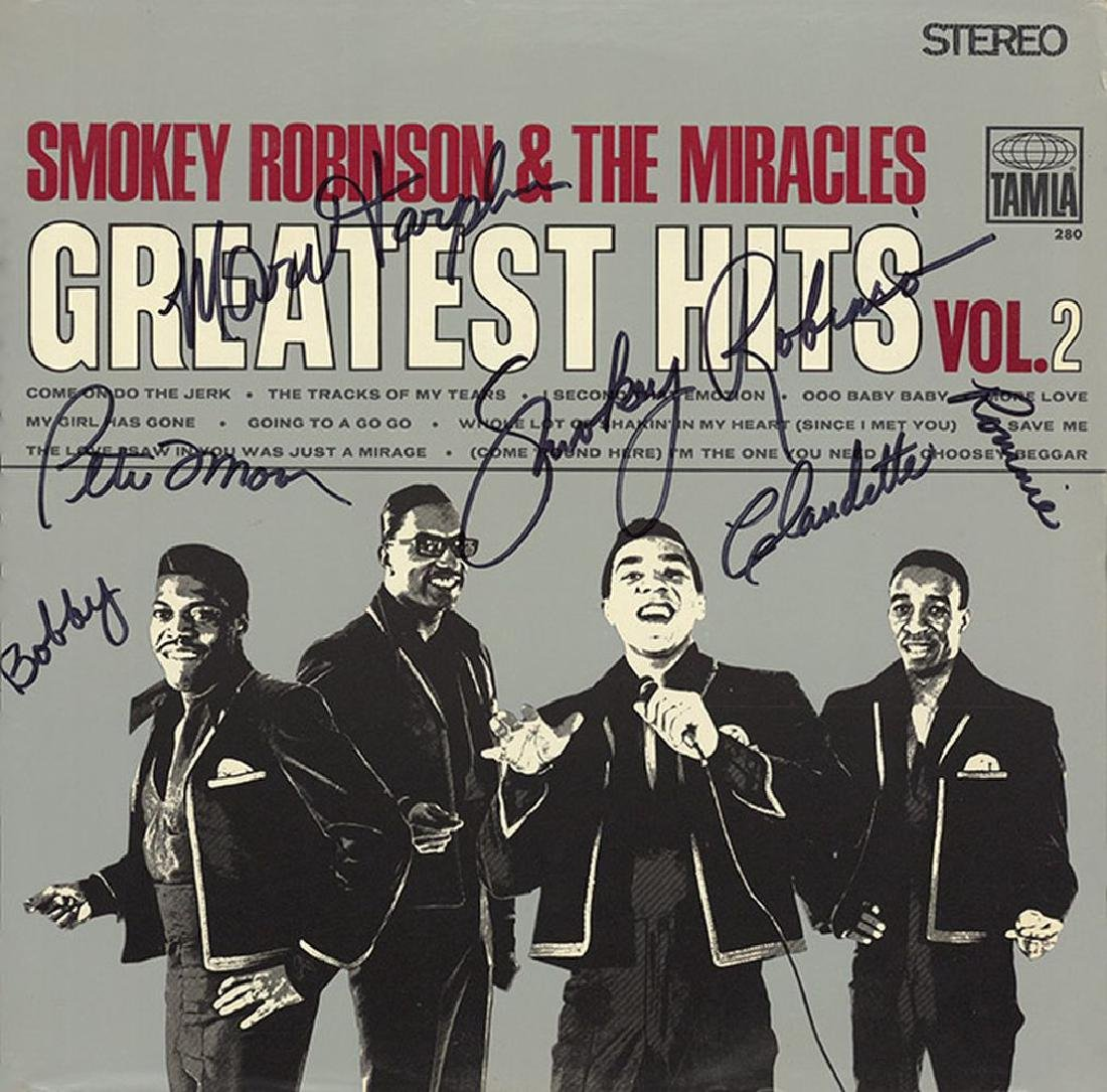 "Smokey Robinson And The Miracles ""Greatest Hits Vol 2"""
