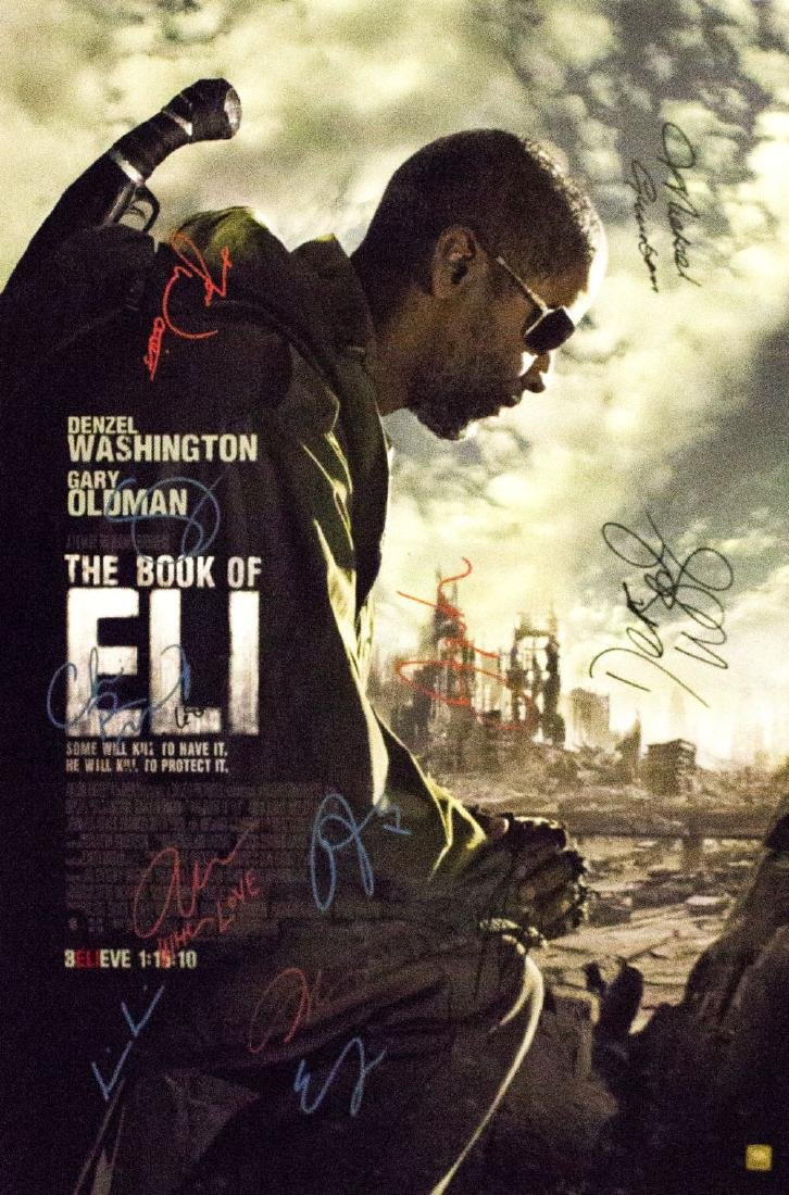 Book of Eli – Signed and Framed Movie Poster
