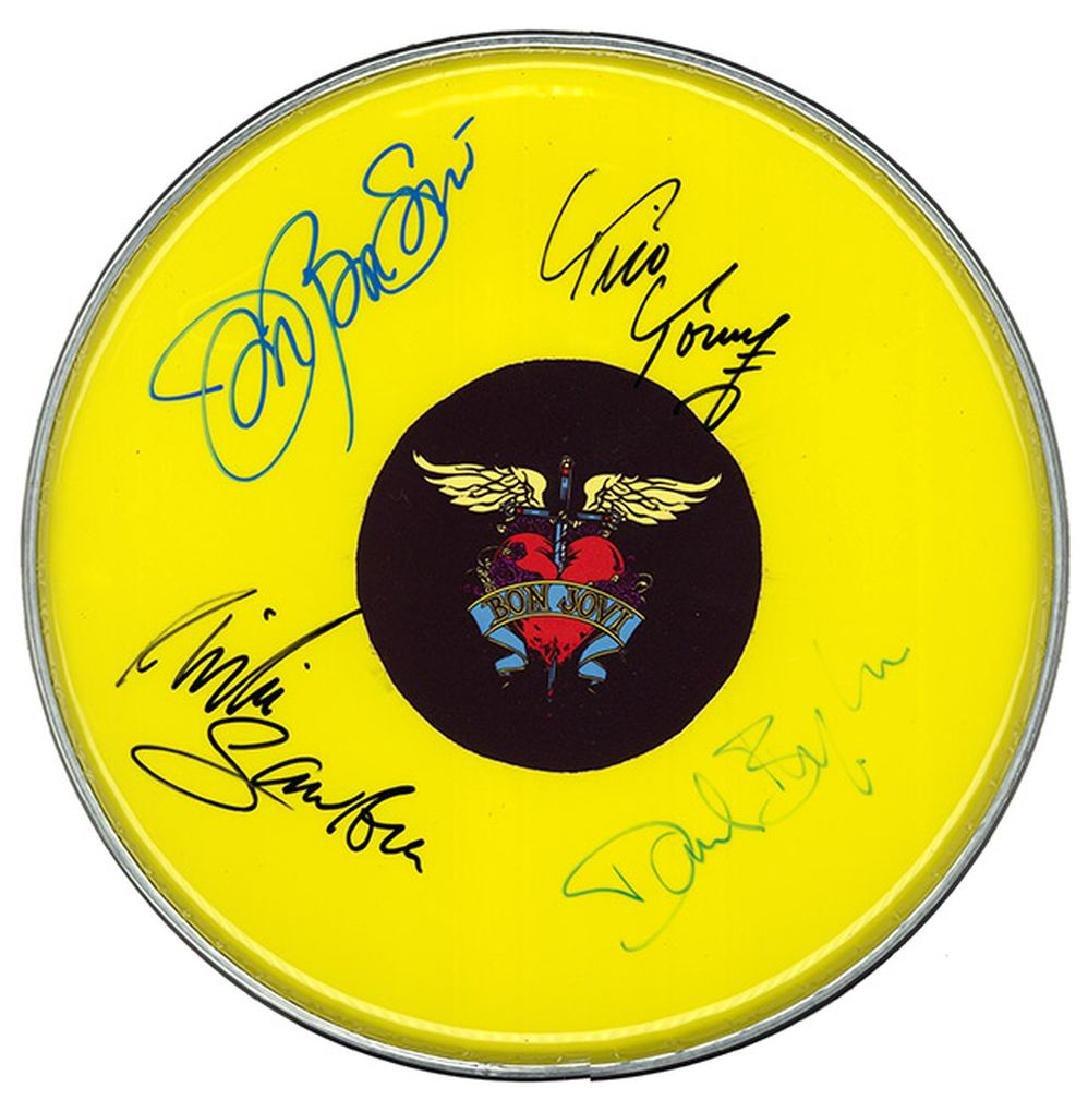 Bon Jovi Drum Head