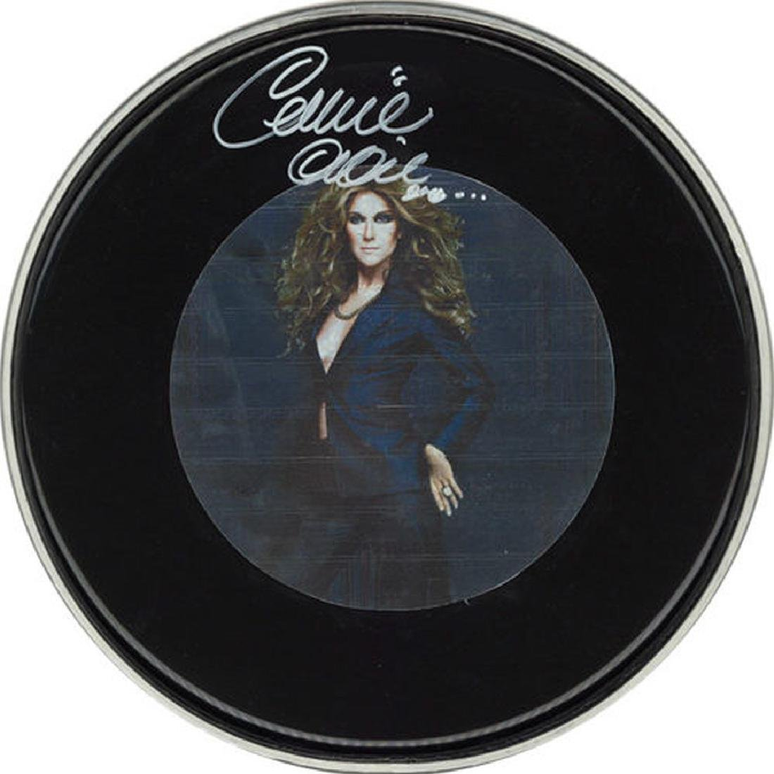 Celine Dion Drum Head