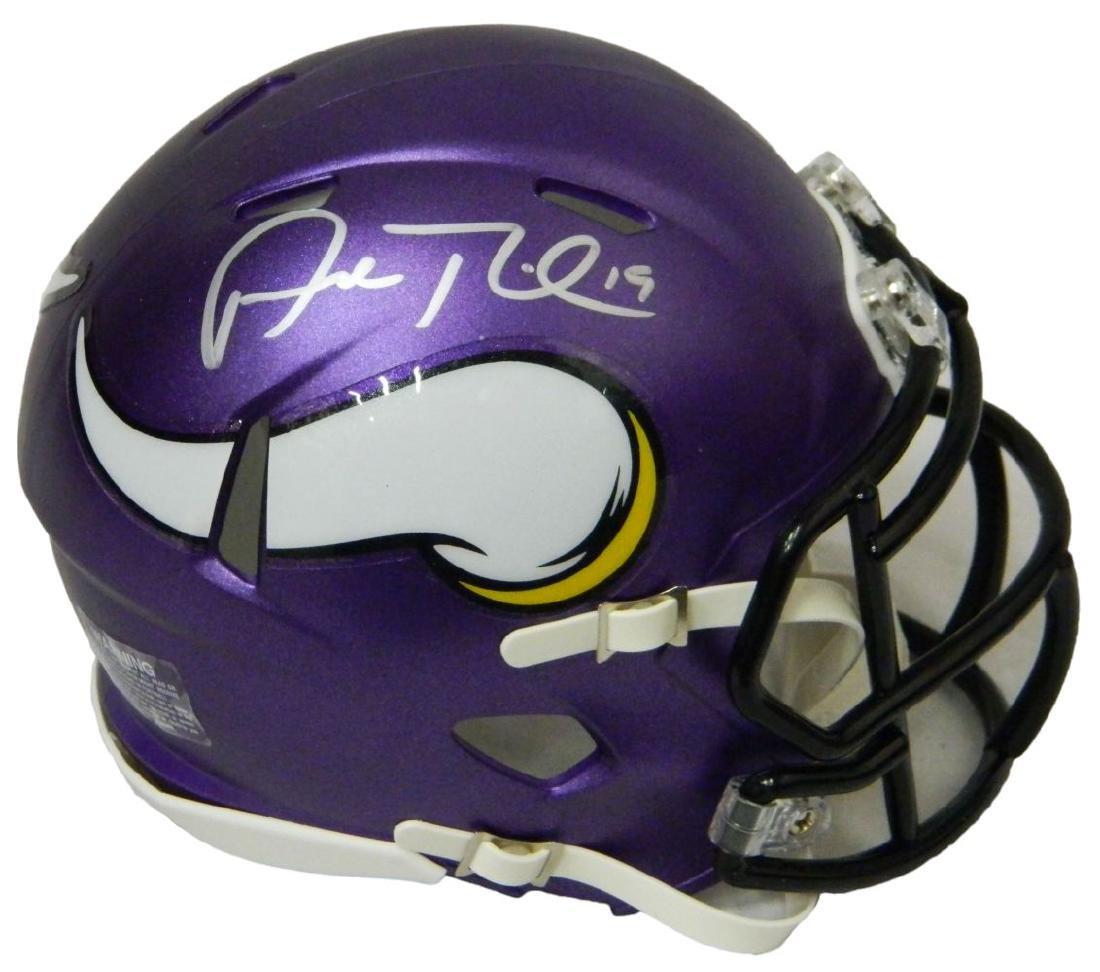 Adam Thielen Signed Minnesota Vikings Riddell Speed