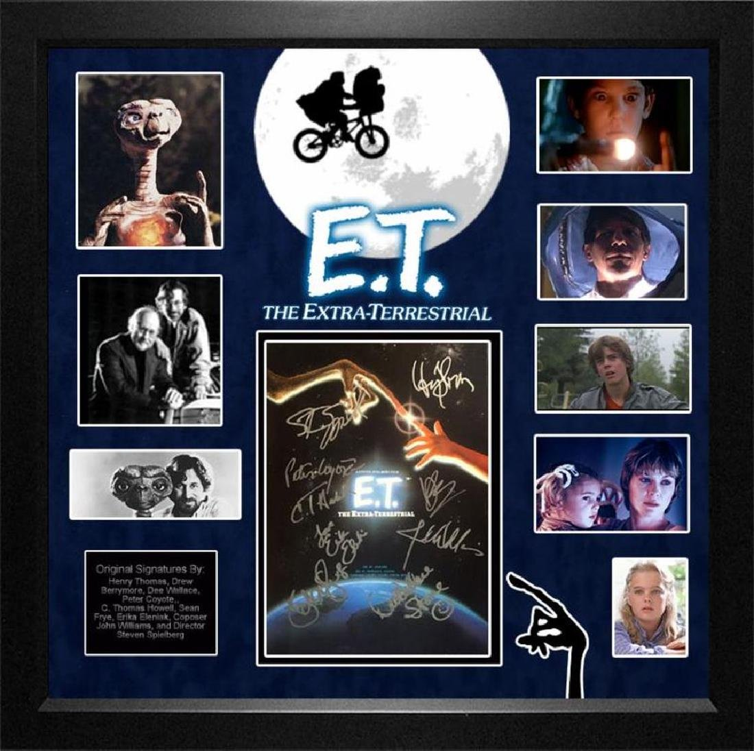 E.T. Signed Movie Poster