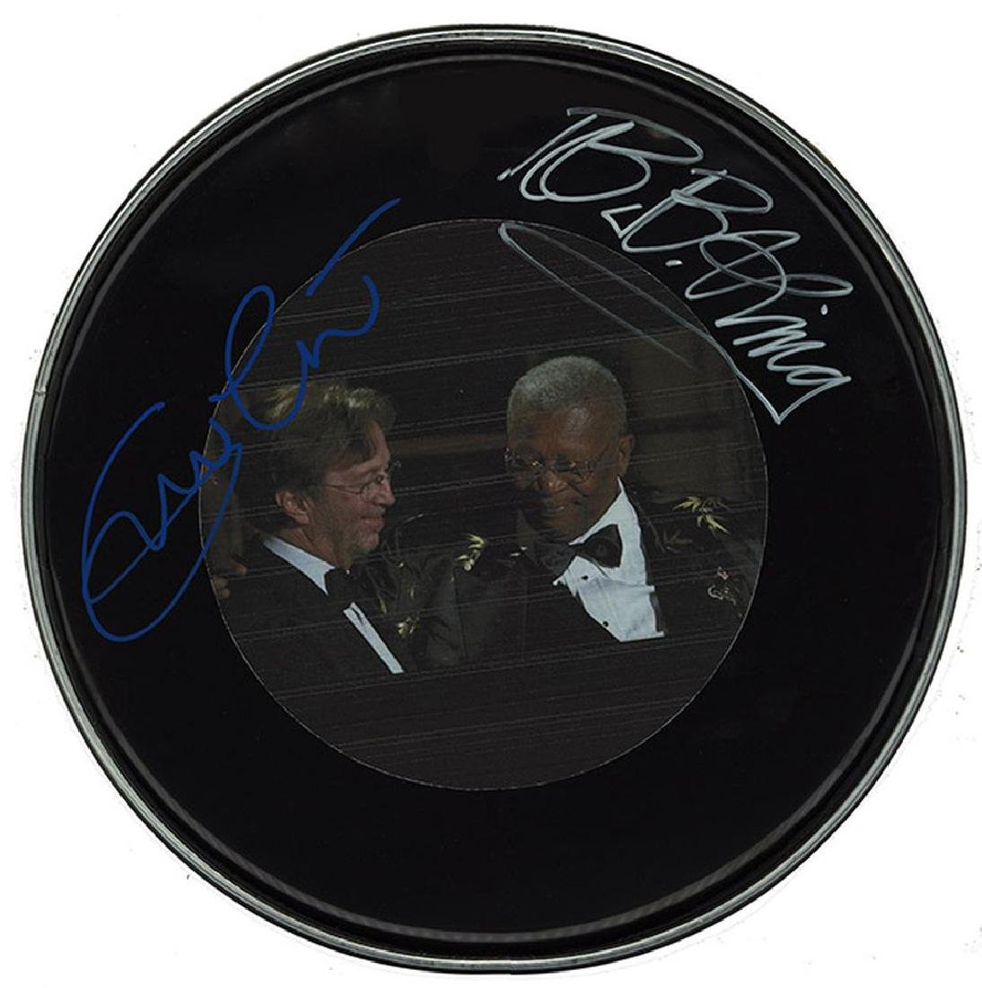 Eric Clapton & B.B. King Drum Head