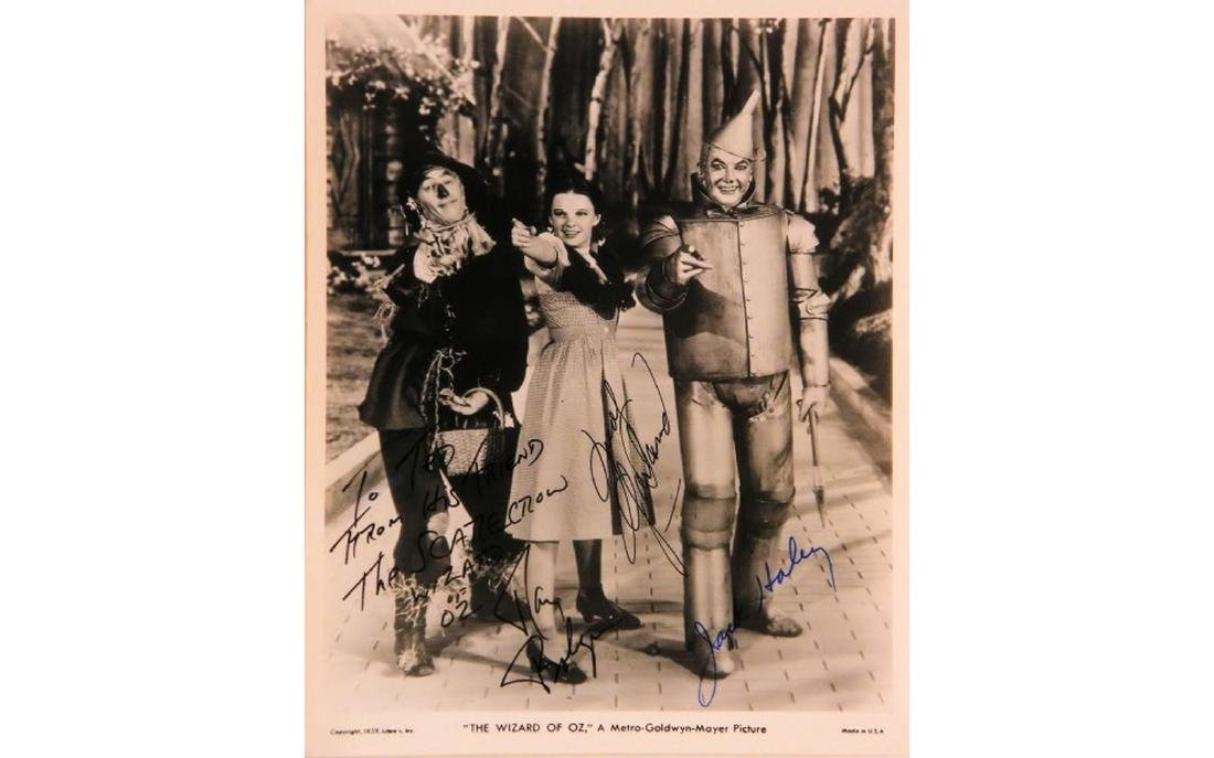 The Wizard of OZ Signed Photo