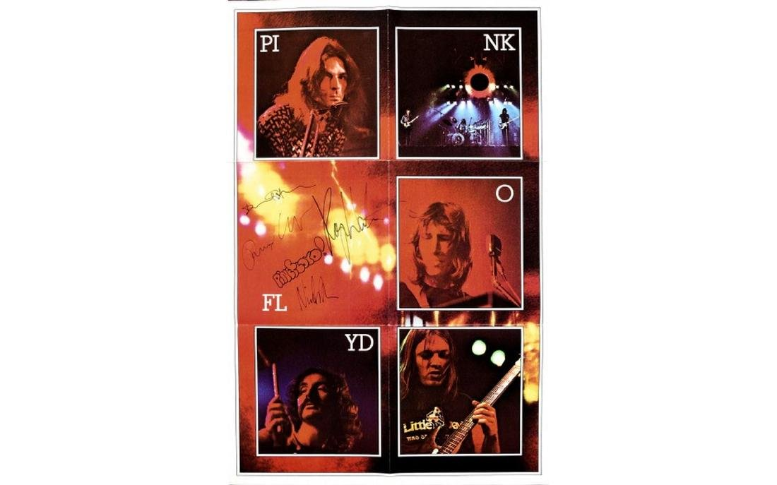 Pink Floyd The Dark Side Of The Moon Promo Insert