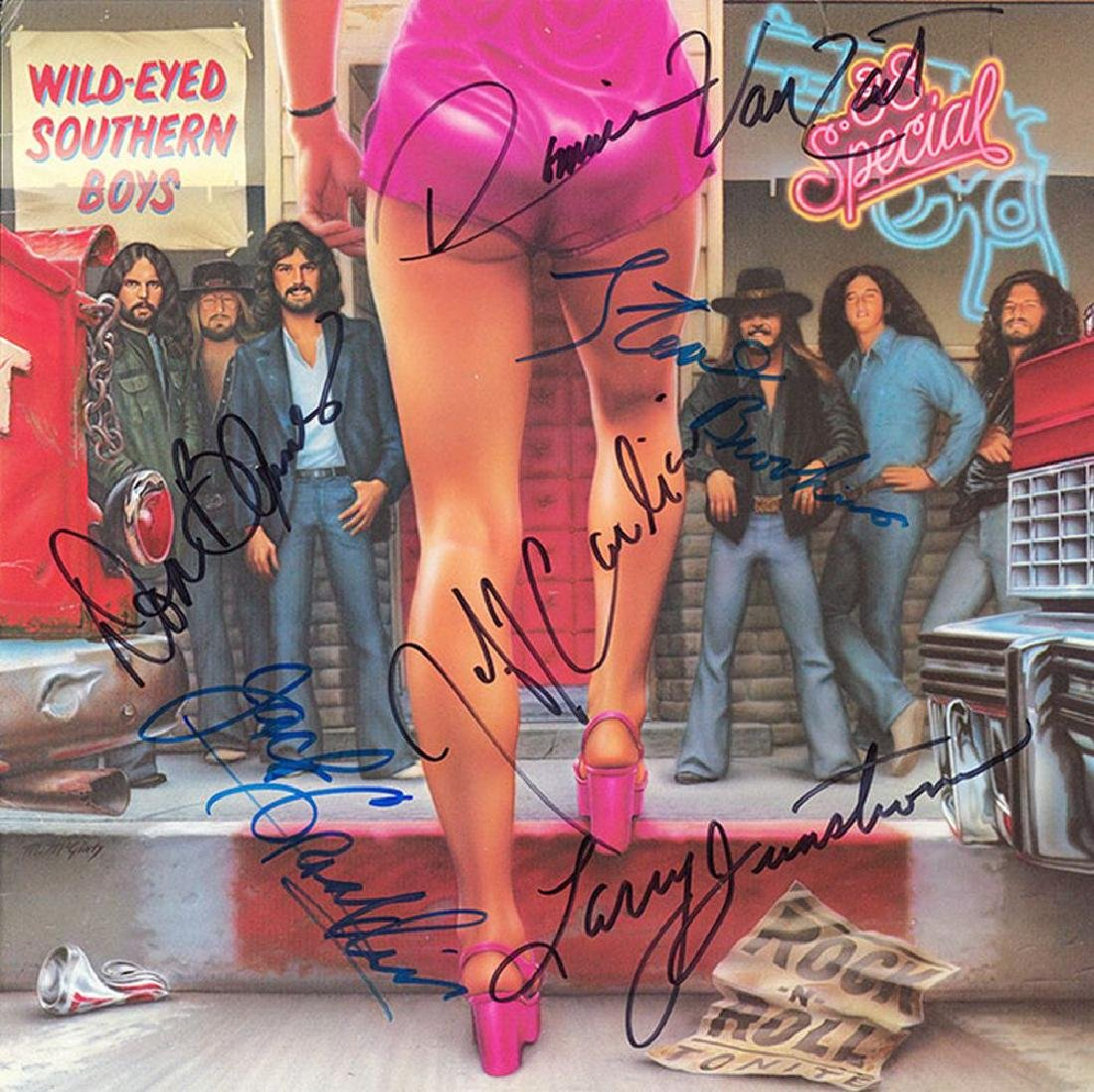38 Special Band Signed Wild-Eyed Southern Boys Album