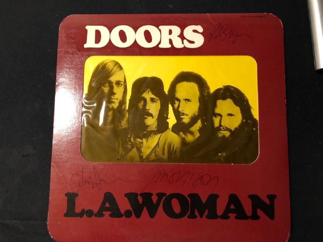 Doors LA Woman Signed Album