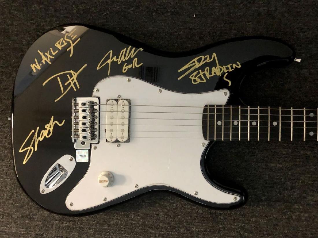 Guns N Roses Signed Guitar