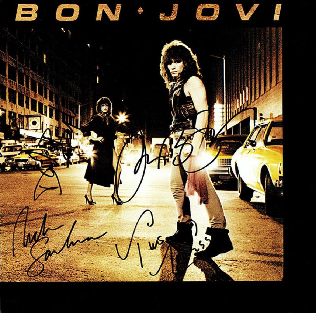 Bon Jovi Signed Self-Titled Album