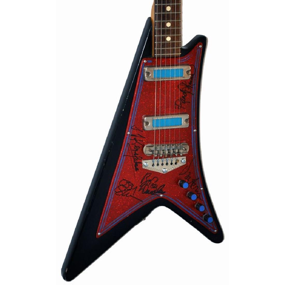 Ozzy Osbourne Band Signed Guitar