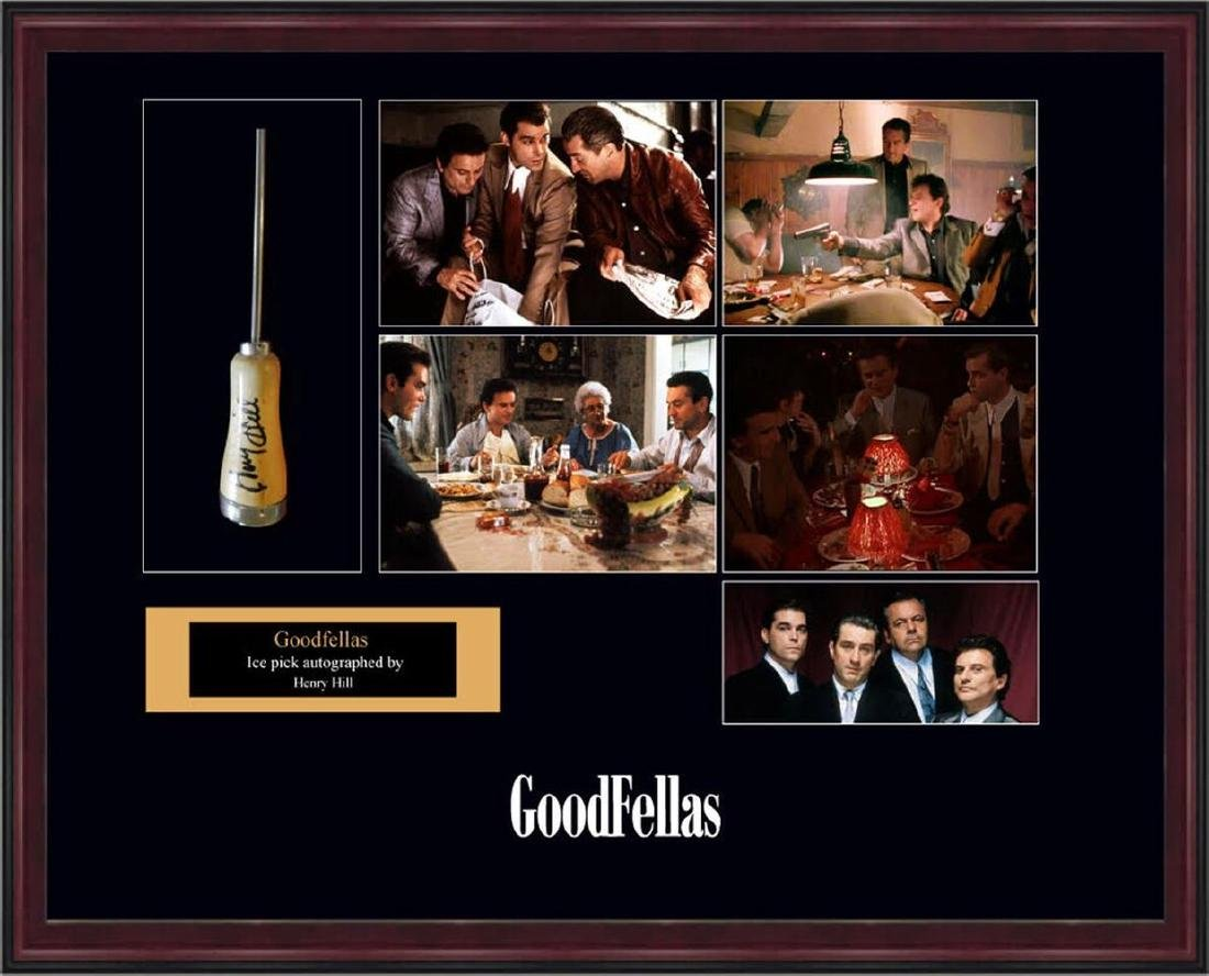 Henry Hill Signed Goodfellas Ice Pick