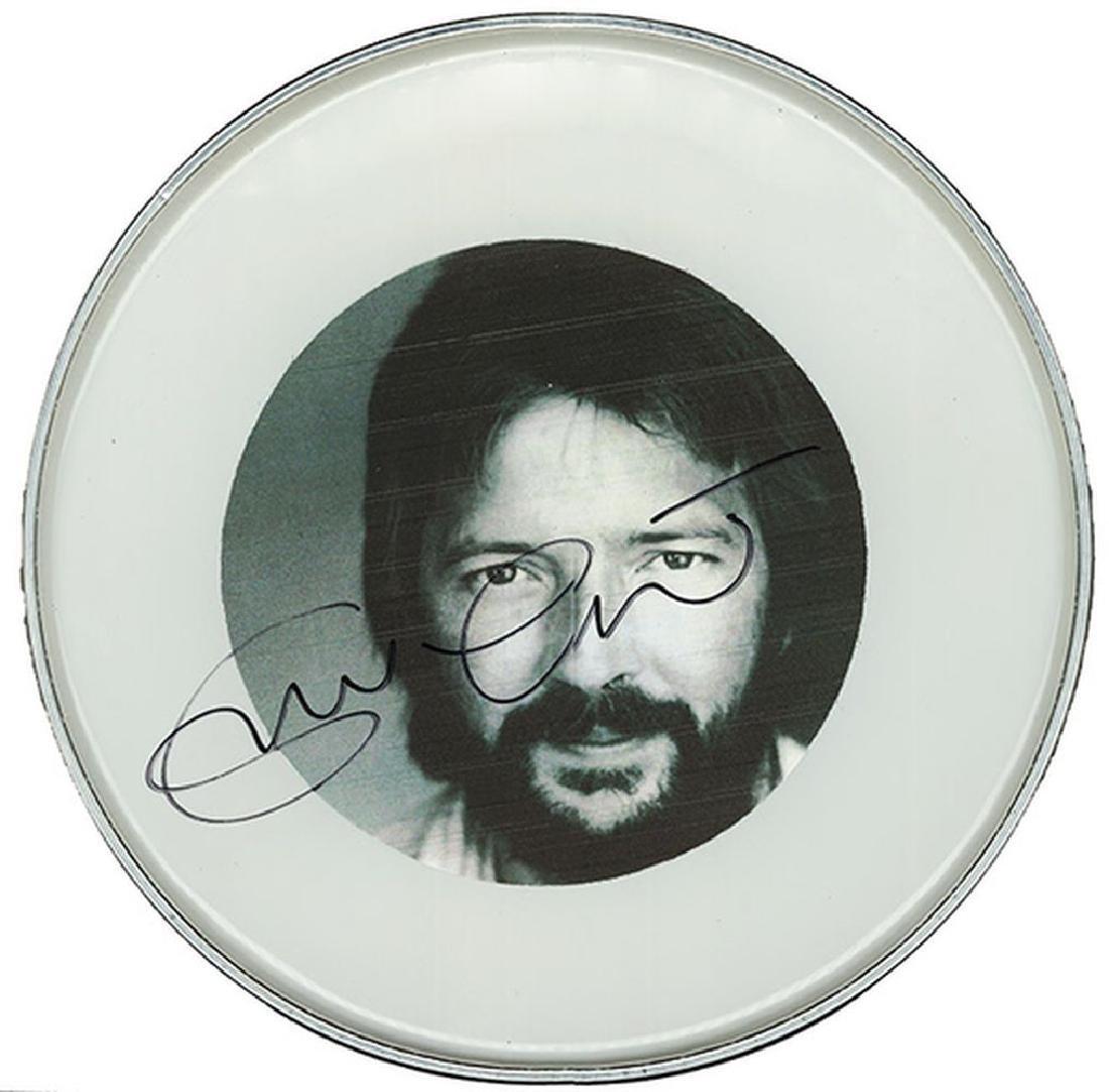 Eric Clapton Drum Head