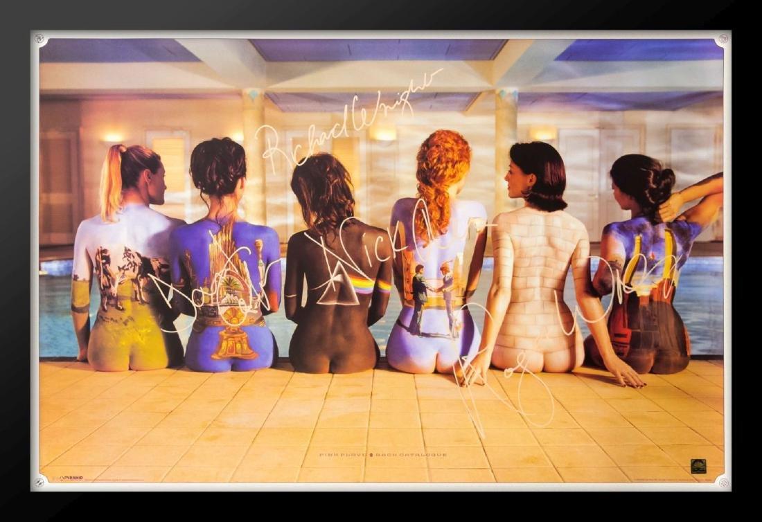 Pink Floyd Back Pages Framed Poster