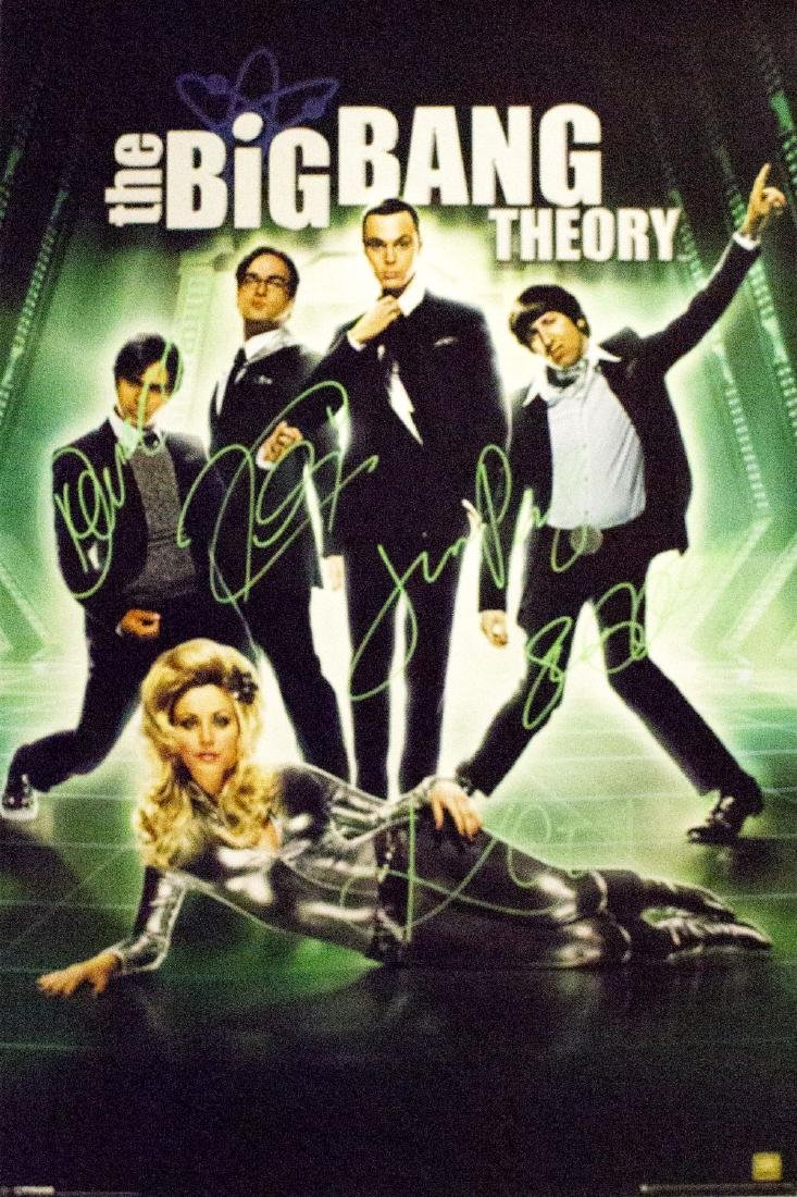 Big Band Theory – Signed Poster