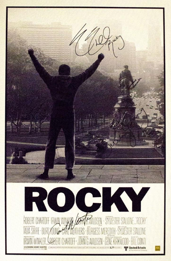 Rocky - Signed Movie Poster