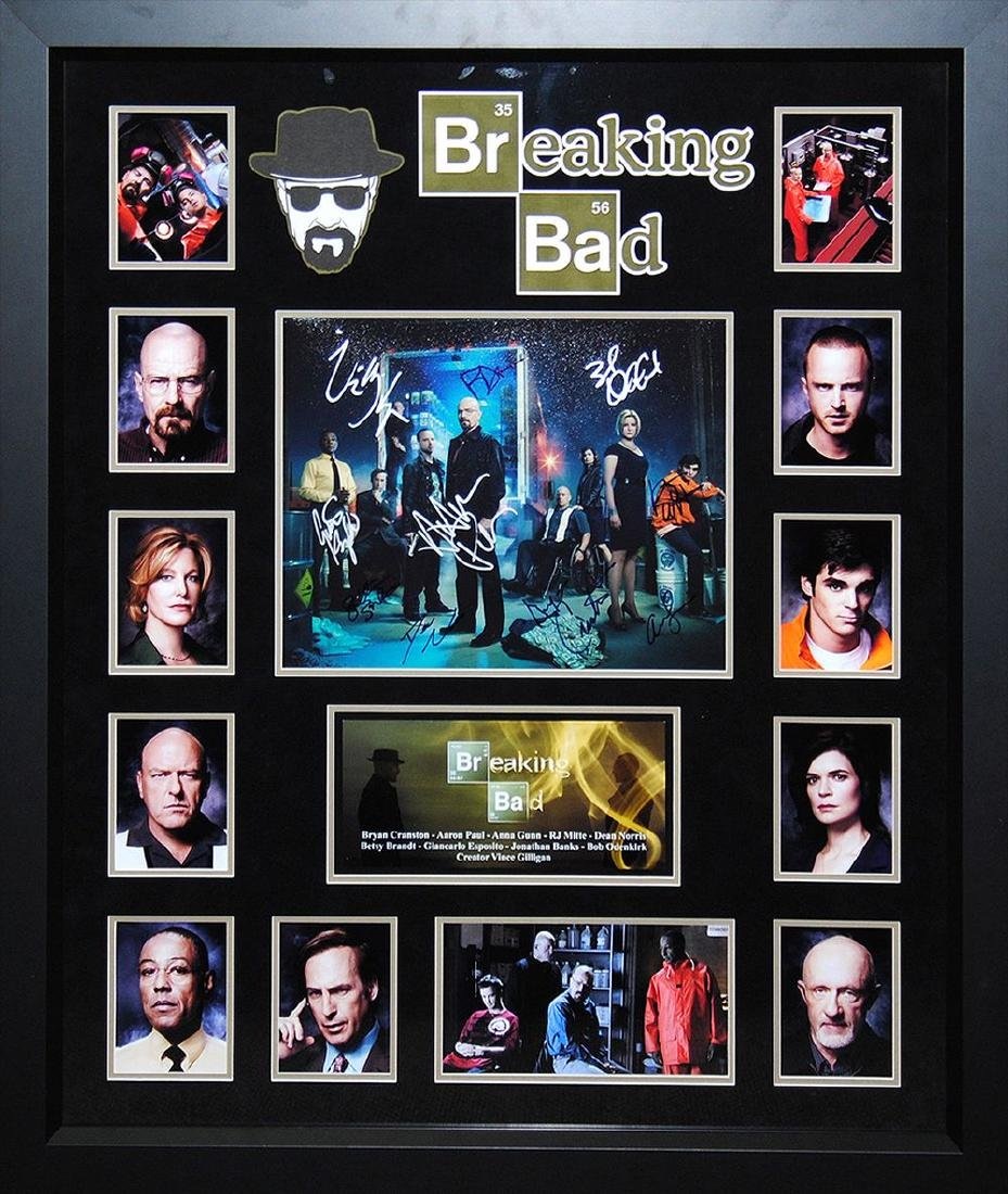 Breaking Bad Signed Collage