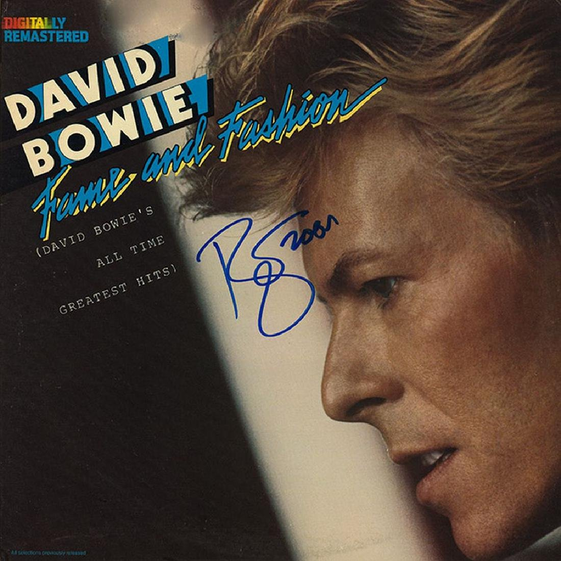 David Bowie Signed Fame And Fashion Album