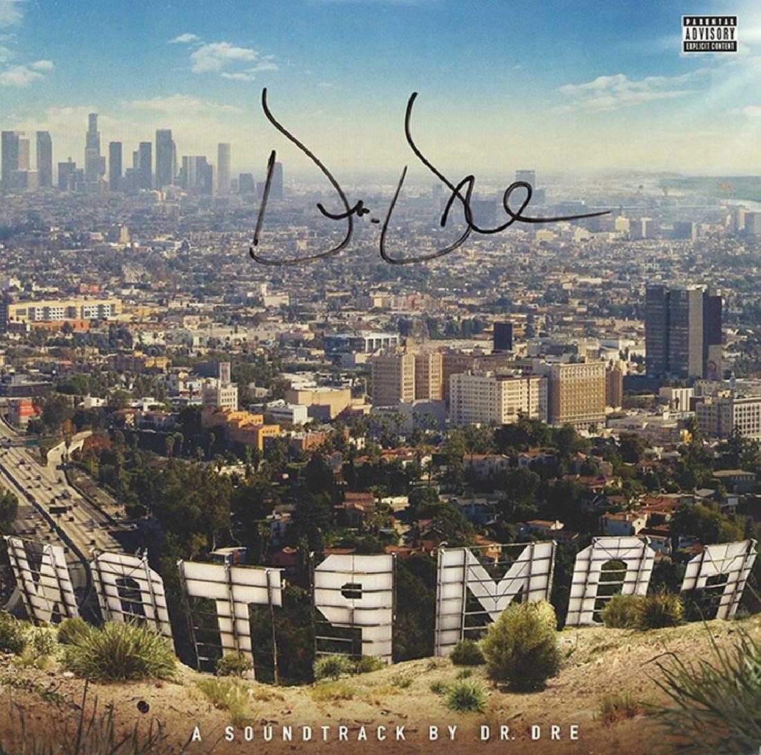 Dr. Dre Signed A Soundtrack By Dr. Dre Album