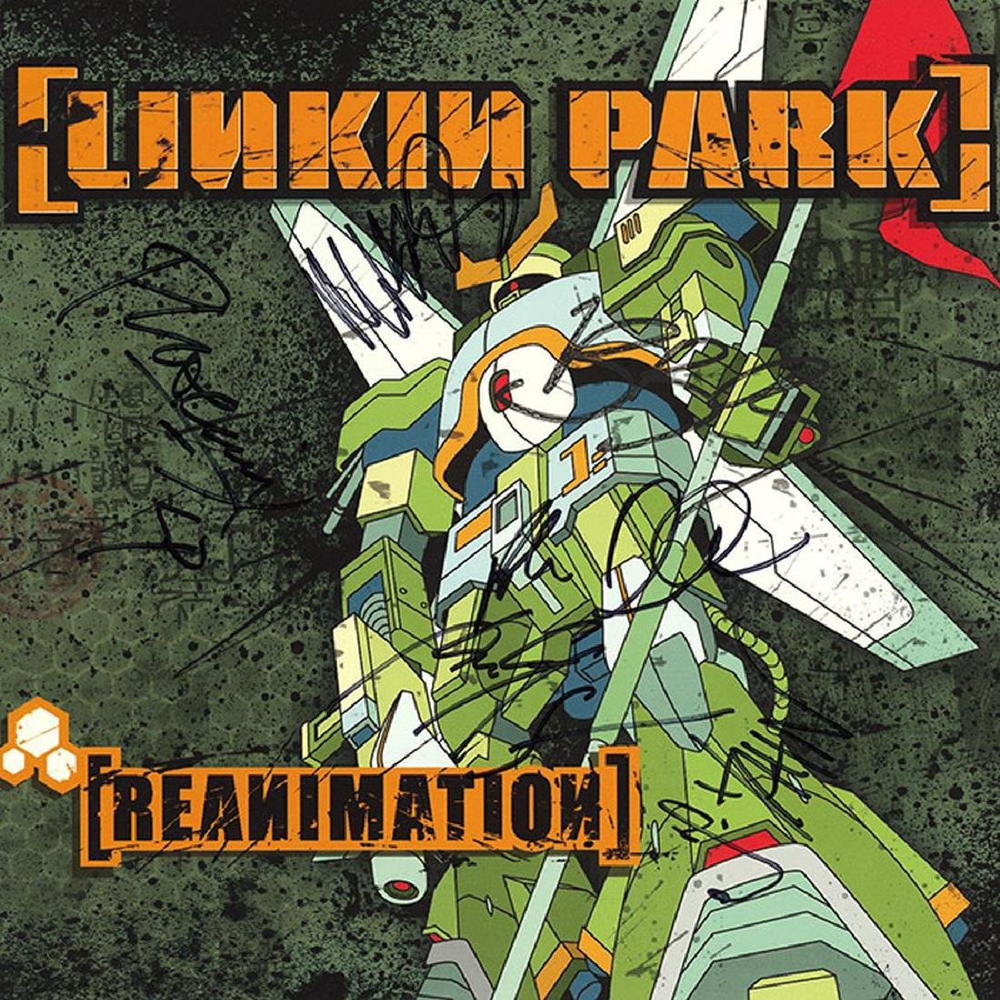 Linkin Park Band Signed Reanimation Album