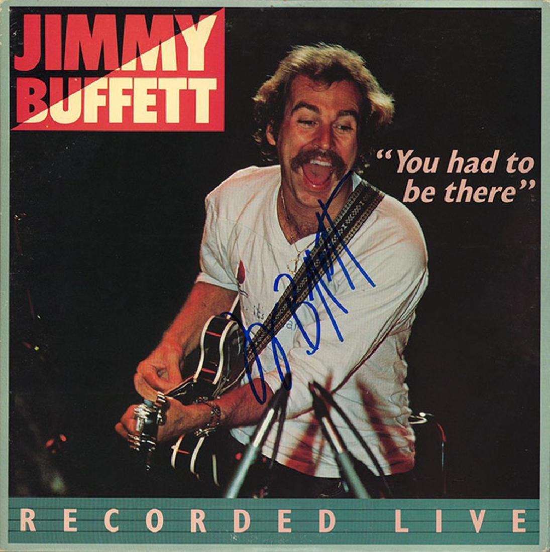 Jimmy Buffett Signed You Had To Be There Album