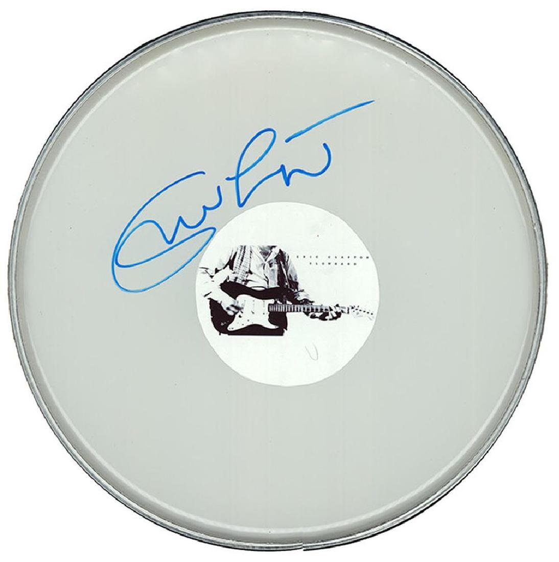 "Eric Clapton ""Slowhand"" Drum Head"