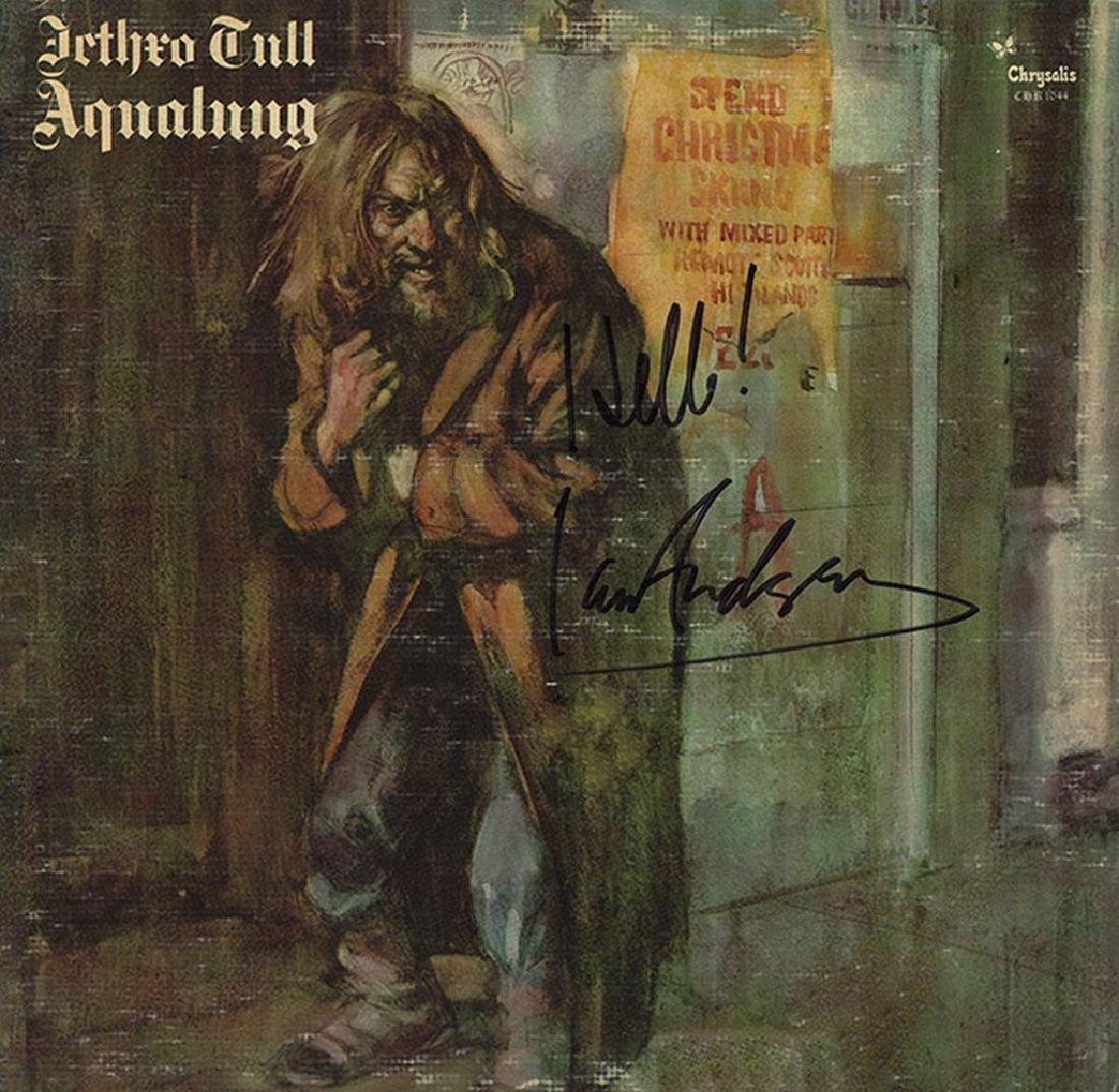 """Jethro Tull Signed """"Aqualung"""" Album"""