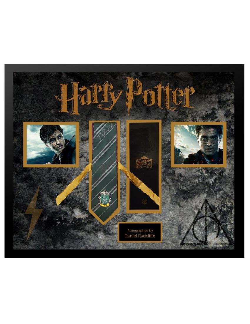 Harry Potter Signed Tie Collage