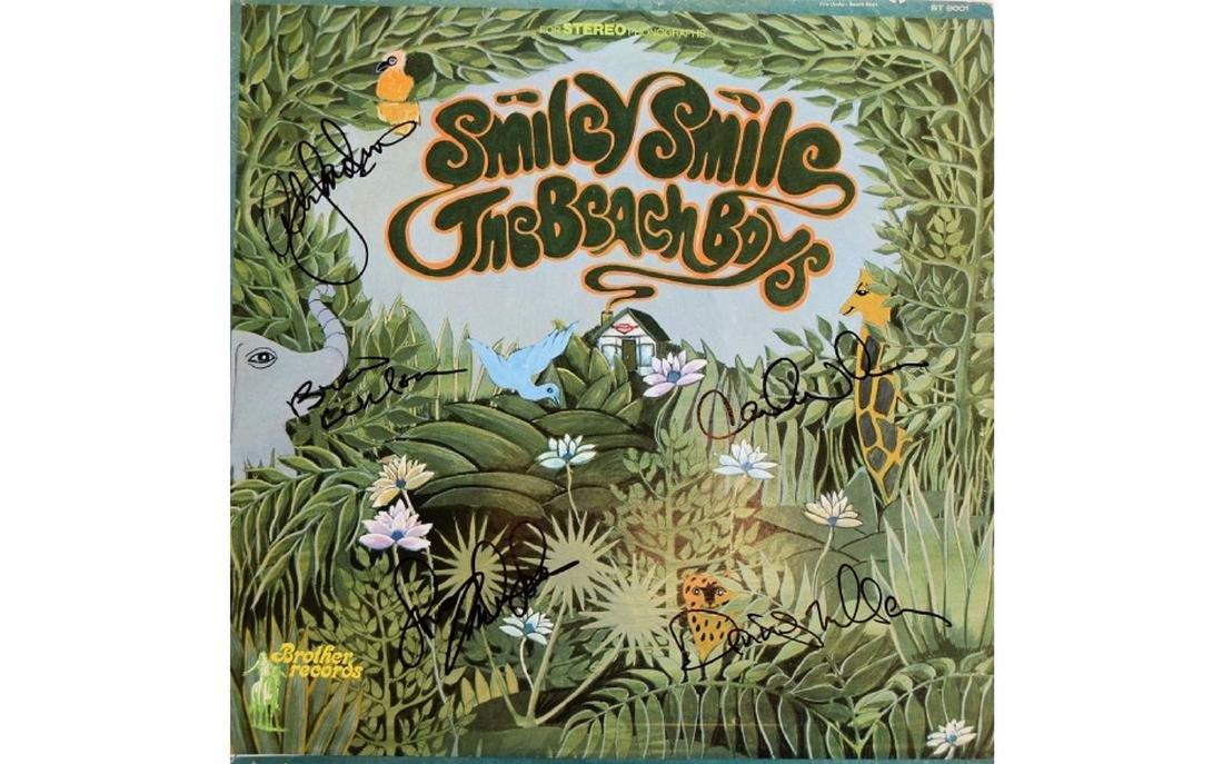 The Beach Boys Signed Smiley Smile - 1967 Album