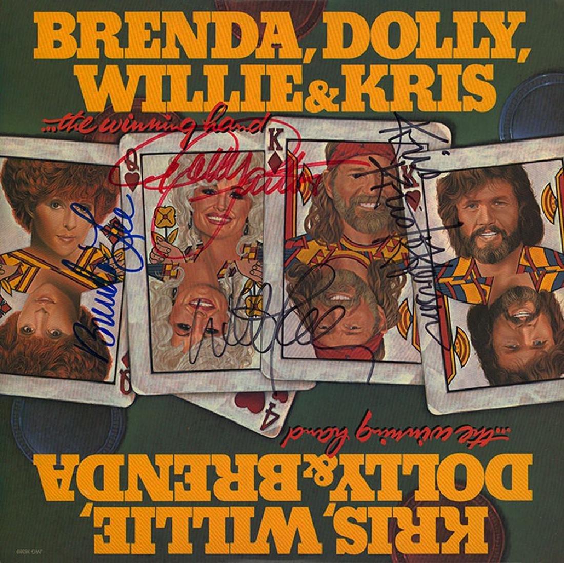 Willie Nelson Kris Kristofferson Dolly Parton Brenda