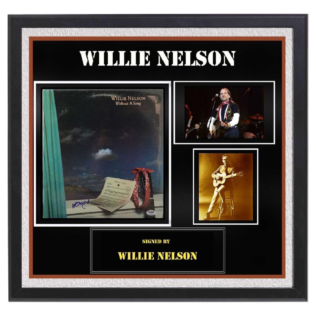 """Willie Nelson """"Without a Song"""" Album"""