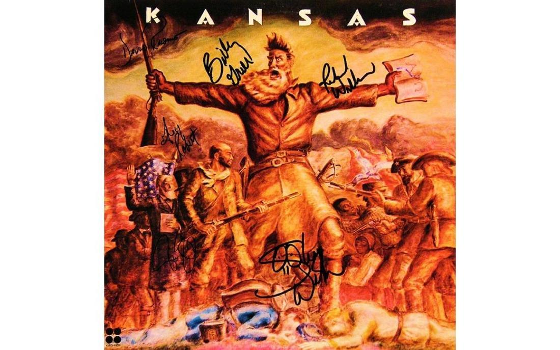 Kansas Signed Debut Album - 1974