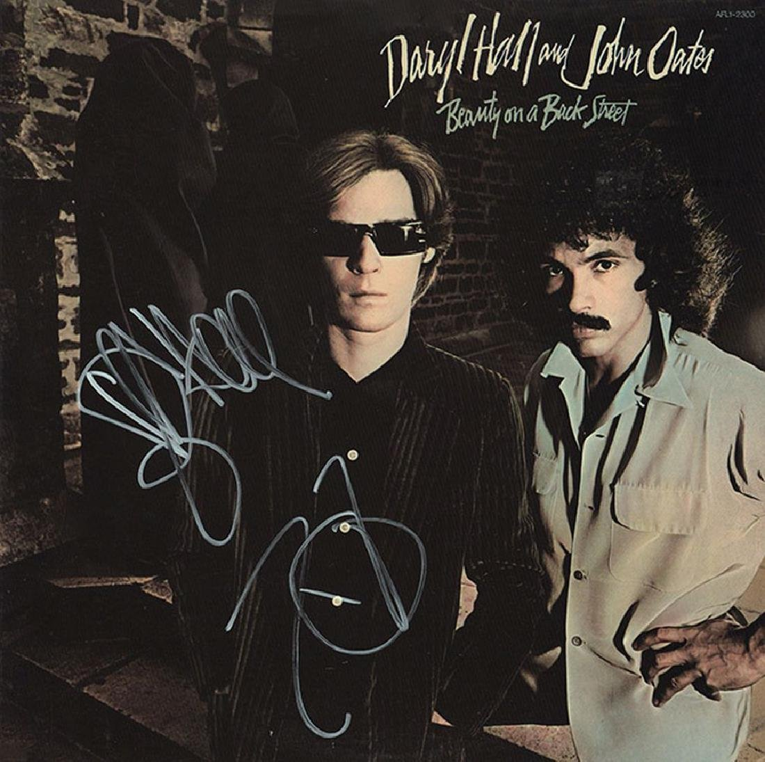 Hall & Oates Signed Beauty On A Back Street Album