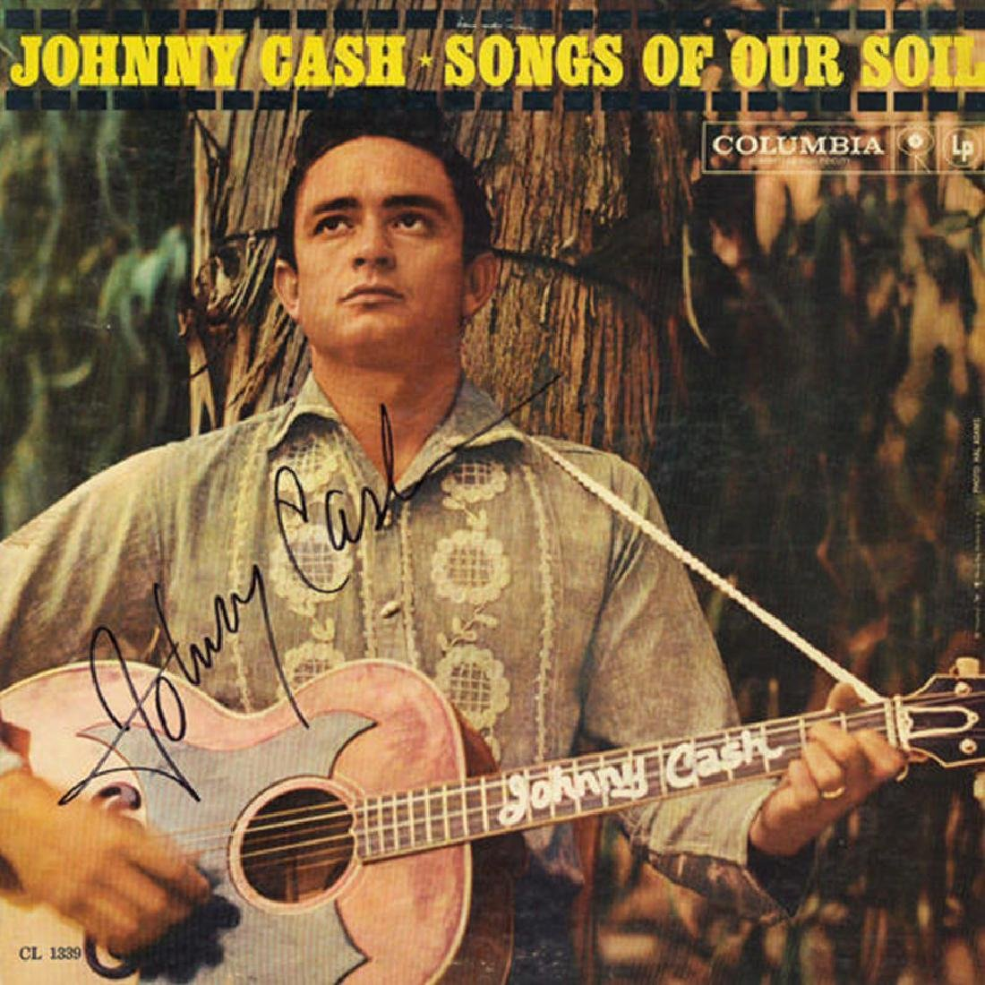 "Johnny Cash ""Songs of Our Soil"" Album"