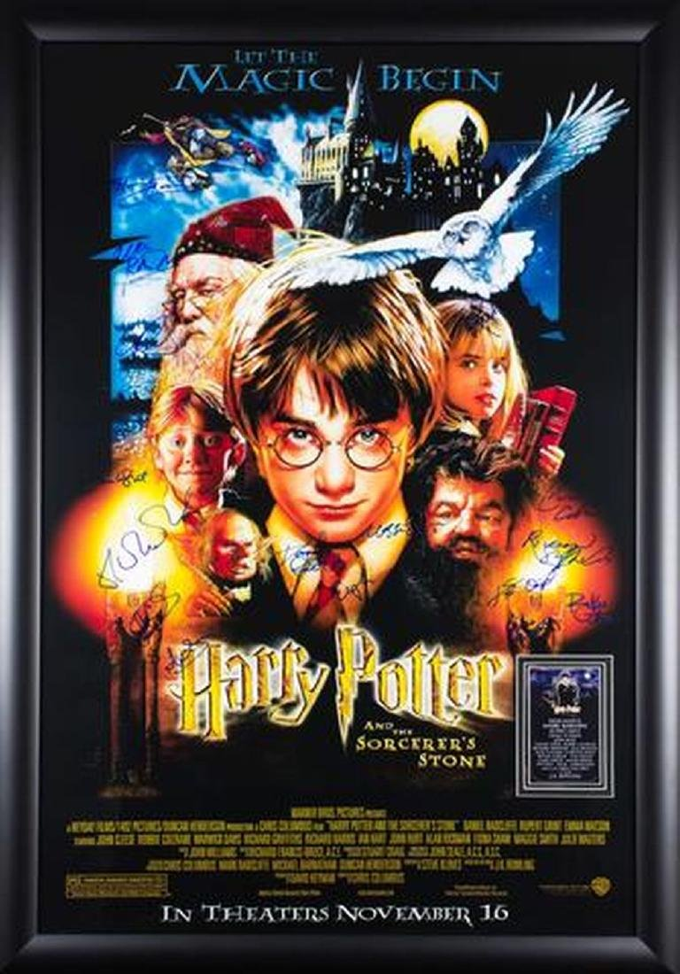 Harry Potter And The Sorcerer's Stone - Signed Movie